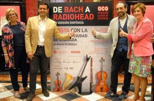 Presentación del concierto popular de la OCG.