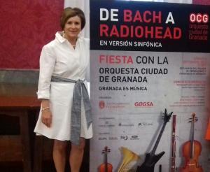 Presentación del concierto de la OCG.