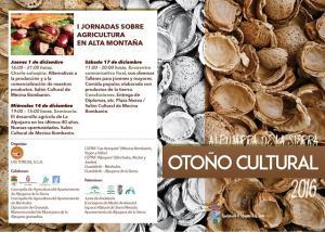 Un otoño lleno de actividades en Alpujarra de la Sierra.