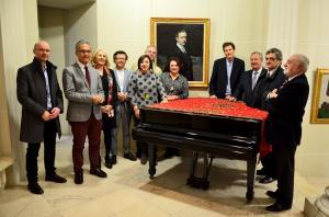 Los nuevos patronos de la Fundación Pública Andaluza Rodríguez-Acosta.