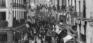 Imagen de la calle Reyes Católicos.