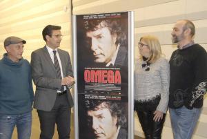 Presentación de las proyecciones de 'Omega' en el Centro Lorca.
