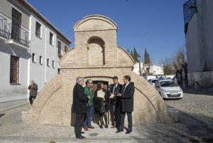 Uno de los aljibes restaurados en la primera fase, el de San Nicolás.