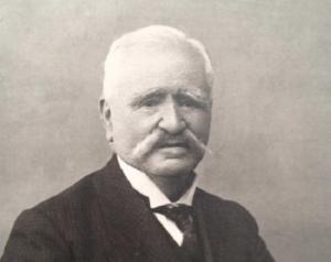 Retrato de Giménez Arévalo a principios del siglo XX.