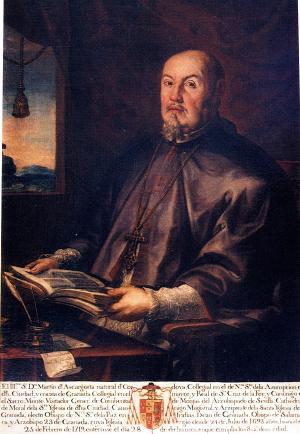 Martín de Ascargorta en un retrato de José Risueño.