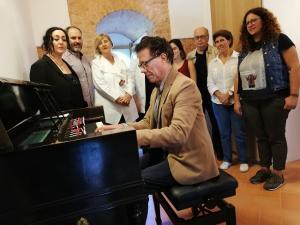 Reynaldo Fernández, este jueves en la presentación del ciclo cultural.