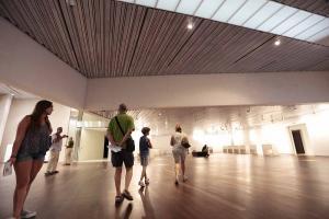 Sala de exposiciones del Centro Lorca.
