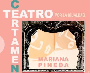 Cartel del certamen teatral.