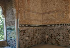 Su decoración es uno de los atractivos de la Torre de la Cautiva.