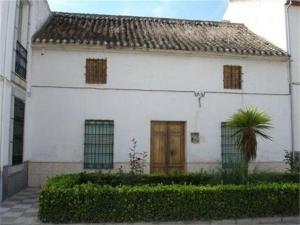 Exterior de la casa de Bernarda Alba, en una foto de archivo.