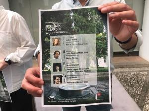 Programa de 'Poesía en el Jardín'.