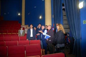 Visita municipal al Teatro José Tamayo.
