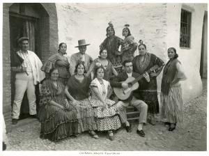 Zambra gitana del Sacromonte, principios siglo XX