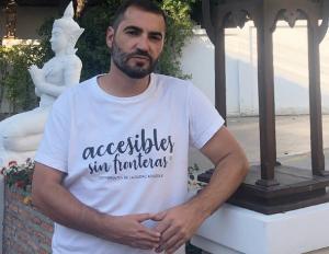 Antonio Tejada tiene una discapacidad del 66%.