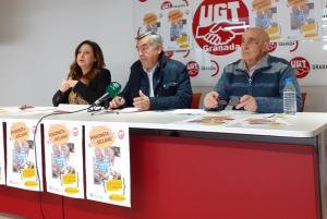 """Presentación de la campaña """"Pensionista ¡Reclama! Es de justicia, es tu derecho""""."""