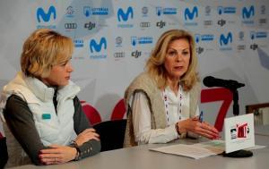 Carme Artigas, de Synergic Partners, y María José López, consejera delegada de Cetursa.