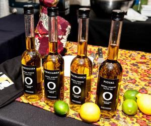 Diferentes variedades de aceite de oliva.