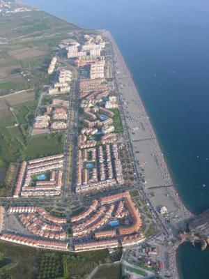 El espigón se situará en la playa de la Punta del Río y tendrá 150 metros de longitud.
