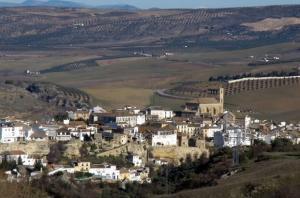 Panorámica de Alhama de Granada.