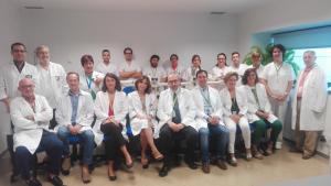 Componentes de la Unidad Provincial Intercentros de Anatomía Patológica.