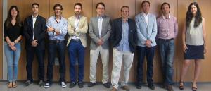Candidatura de Coag+, liderada por Martínez Cañas.