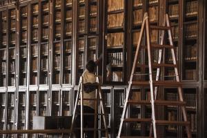Biblioteca del Hospital Real.