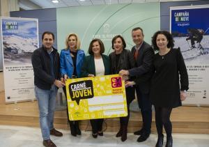 Presentación del acuerdo con Cetursa para titulares del Carné Joven.