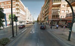 La parada se hizo en Camino de Ronda con Almenillas.