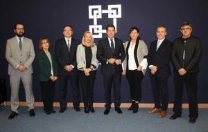 Miembros de la candidatura de Gerardo Cuerva.
