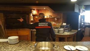 El domingo hubo un conato de incendio en el Restaurante Telecabina.