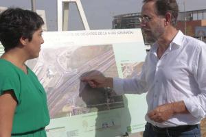 El consejero Felipe López explica los cambios en los accesos.