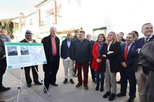 La consejera Marifrán Carazo ha visitado el municipio.
