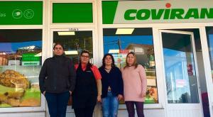 Uno de los nuevos supermercados de Covirán en Portugal.