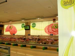 Imagen de un supermercado Dani.