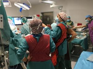 Intervención de Cirugía de Alta Resolución.