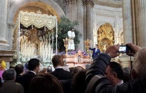 El Cautivo y la Encarnación en el templo del Rosario.