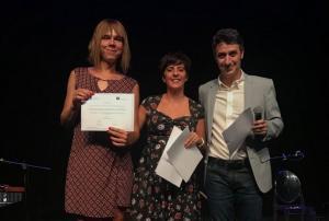 Premiados con los galardones Emilio Perea.