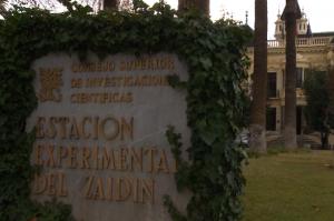 Instalaciones de la Estación Experimental del Zaidín.