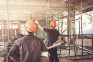 Empleados del sector de la construcción.