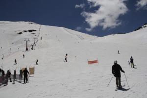 Imagen de la estación de esquí granadina.