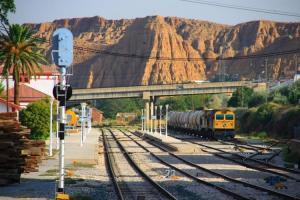Estación de tren de Guadix.