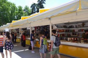 Imagen de la Feria del Libro de Madrid.