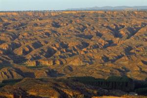 El Geoparque del Cuaternario ofrece unos paises únicos.