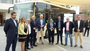 Presentación de la nueva línea de bus.