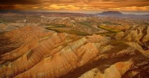 La zona ofrece paisajes espectaculares y únicos.