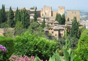Vista de la Alhambra.