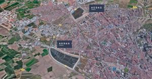 Localización de los suelos adquiridos por Aedas Homes