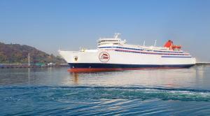 Nuevo barco que cubrirá la línea con Melilla.