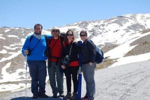 Miembros del equipo de investigación, en Sierra Nevada.