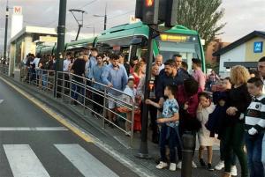 El transporte en el metro sigue creciendo.